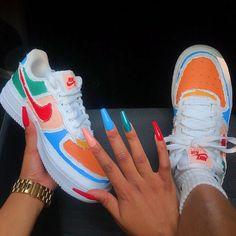 Jordan Shoes Girls, Girls Shoes, Cute Sneakers, Sneakers Nike, Nike Shoes Air Force, Air Force Sneakers, Baskets, Aesthetic Shoes, Fresh Shoes
