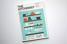 The Kitchenist  Design & Illustration/Concept by Isabel Foo, designer at The Office of Gilbert Li.
