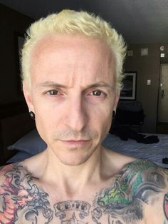 Chester's new look❤