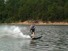 Skiing on Lake Coronado in Hot Springs Village Arkansas Spring Projects, Hot Springs, Arkansas, Lakes, Skiing, Ski, Spa Water