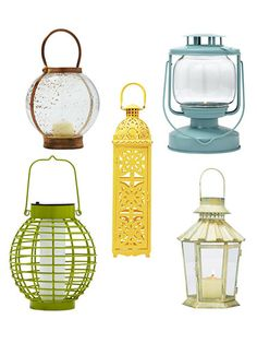 Outdoor Lanterns - Candle Lanterns