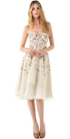 """Lela Rose - engagement """"party"""" dress"""