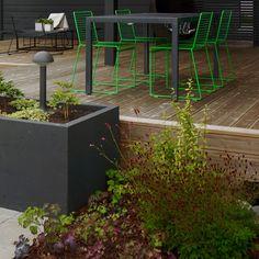 Nordic garden design, designed by Green Idea Diy Projects Patio, Garden Projects, Garden Landscape Design, Outdoor Living Areas, Garden Boxes, Diy Planters, Yard Landscaping, Garden Inspiration, Helsinki