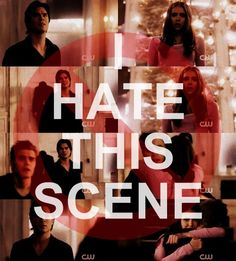 ITS SOO SAD! poor damon! But there are way more scenes that are to hard to watch! It breaks my delena heart