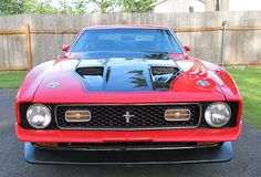 Ford : Mustang Mach 1 1971 71 Ford Mustang Mach 1 - http://www.legendaryfinds.com/ford-mustang-mach-1-1971-71-ford-mustang-mach-1/