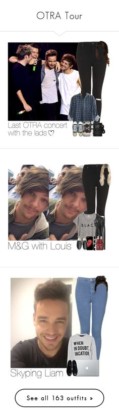 """""""OTRA Tour"""" by hpforever00 ❤ liked on Polyvore featuring Topshop, With Love From CA, Converse, Maison Margiela, harrystyles, LiamPayne, NiallHoran, louistomlinson, OTRATour and TalisLittleTag"""