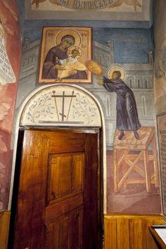 Grigore Popescu - Pictura murala, icoane, pictura sevalet, restaurare Orthodox Prayers, Orthodox Icons, Sacred Art, Archaeology, Fresco, Contemporary, Decor, Fresh, Decoration