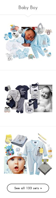 """""""Baby Boy"""" by sterlingkitten ❤ liked on Polyvore featuring Disney, men's fashion, menswear, Robeez, Taggies, Carter's, Gerber, Melissa & Doug, Zubels and Kyler by Joy O"""