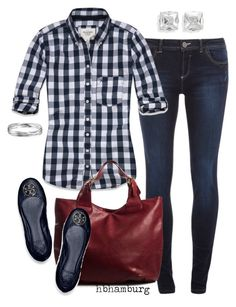 """""""No. 129 - Casual day"""" by hbhamburg ❤ liked on Polyvore featuring мода, Dorothy Perkins, Abercrombie & Fitch, Pieces, Tory Burch, Blue Nile, women's clothing, women, female и woman"""