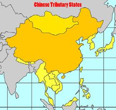 A Map of Chinese Tributary States    http://www.busanhaps.com/sites/default/files/images/articles/chinese_tributary_states.jpg