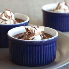 Mexican Chocolate Pots de Crème | MyRecipes.com