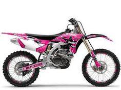 Pink Dirt Bike... probably my dream dirt bike.