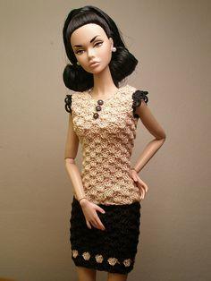 "poppy ""Tears go by"" in crochet dress Chanel 4 | Flickr - Photo Sharing!"