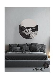 Art Winter Wall Decal Photography / Wall Photography/ by ThinkNoir
