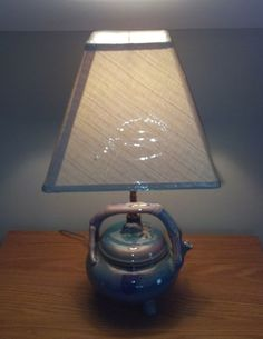 Tea Pot Lamp