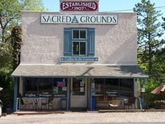 Sacred Grounds Coffee Shop Colorado Springs