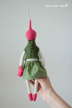 Чудо из ничего Fabric Toys, Fabric Crafts, Paper Toys, Felt Dolls, Doll Toys, Rag Dolls, Crochet Dolls, Fairy Figurines, Textiles