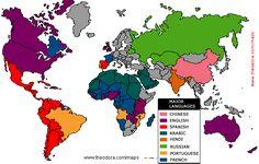 Language Map of the World