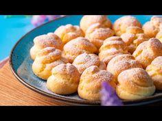 Profiterol cu cremă de vanilie – Idei de retete Pretzel Bites, Cereal, Deserts, Yummy Food, Facebook, Breakfast, Youtube, Morning Coffee, Delicious Food
