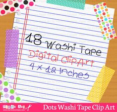 Washi Tape Clip Art