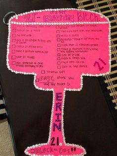 10 fun 21st birthday ideas for your bestie finally 21 pinterest
