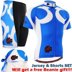 63.66$  Buy here - http://aliih6.worldwells.pw/go.php?t=32597511760 - 2016 men cycling complet sets Newest Men Cycling Jersey Shorts Set For spring blue Bicycle Sport Anti-sweat sports gear 63.66$