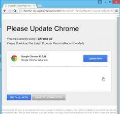 Entfernen chrome-my.updatebrowse.com erfolgreich