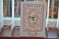 LORRAINE`S CRAFTY PLACE--Spellbinders S5-230 Romantic Rose Die Template
