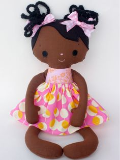 Bit of Whimsy Doll pattern! - what little girl or little girl at heart wouldn't want one of these