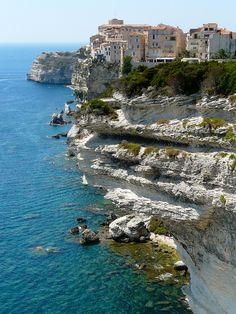 Falaises de Bonifacio, Corse, France