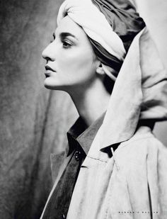 // Erin O'Connor I don't know if this is just an ad or not, but this person is beautiful