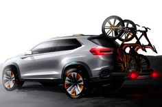 Subaru Viziv Future Concept sketch rear three quarter
