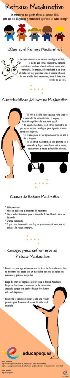 Infografía: Retraso madurativo