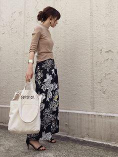 Spick & SpanのTシャツ・カットソー「ハリヌキ Mockネックプルオーバー◆」を使ったari☆のコーディネートです。WEARはモデル・俳優・ショップスタッフなどの着こなしをチェックできるファッションコーディネートサイトです。