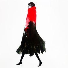 #art #creative #fashionillustration #fashion #drawing #watercolor #painting…