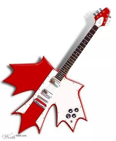 Style, Patriotic, and downright cool !! The Canada guitar !!
