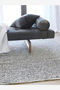 Himla is a Swedish interior design company, which represents Scandinavian simplicity and creative variations in a meaningful way. Most of our products are made of pure linen, with production in Europe. Swedish Interior Design, Swedish Interiors, Interior Design Companies, Wool Rug, Scandinavian, Ottoman, Black And Grey, Villa, Carpet