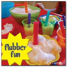 Flubber fun - check out this amazing polymer that you can squish, mold, and even draw on! - Gift of Curiosity