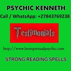 Spiritualist, Truth Love Spell, Call: +27843769238