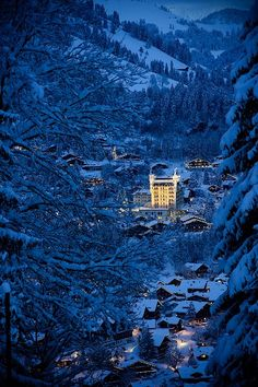 Gstaad Switzerland - Europe