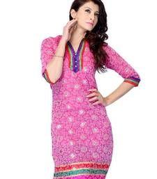 Buy Designer party wear kurti made from jacquard kurtas-and-kurti online