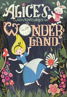 Resultado de imagem para alice in wonderland book covers