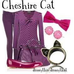 Cheshire Cat, created by disneythis-disneythat on Polyvore