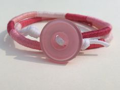 Cotton Thread Double Wrap Bracelet Cotton by CraftsbyBrittany, $10.00