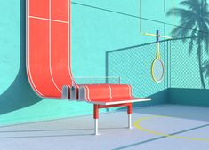 """Summer Diary"" is a cool digital project by Spanish creative studio Hunky-Dunky. More illustrations via Behance 3d Cinema, Communication Art, Summer Memories, 3d Artwork, Grid Design, 3d Artist, Creative Studio, Motion Design, Behance"