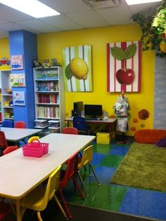 "Mrs. Evelyn Stevenson""s First Grade Class: My New Classroom"