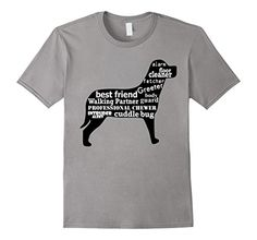 This shirt highlights the endless responsibilities of a dog. We know a dog's work is never done! T-shirt by FitFurFun, sold on Amazon!