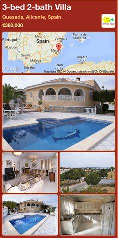3-bed 2-bath Villa for Sale in Quesada, Alicante, Spain ►€380,000