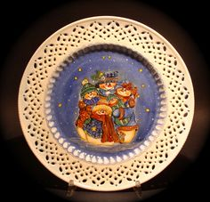 Le porcellane di Morena: Natale - Christmas - Noel hand painted christmas dinnerware - dish ornaments