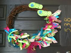 Summer wreath I made